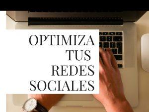 Optimiza tus redes sociales y promociona tu libro