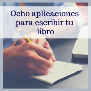 ocho aplicaciones para escribir libros -Bubok