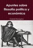 Apuntes sobre filosofía política y económica