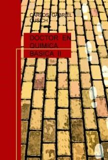 DOCTOR  EN QUIMICA  BASICA  II