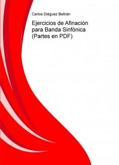 Ejercicios de Afinación para Banda Sinfónica (Partes en PDF)