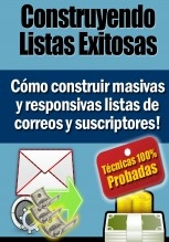 Libro Email Marketing - Construyendo Listas Exitosas, autor Gilberto Flores Sanchez