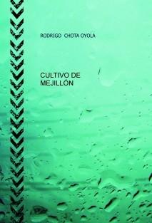 CULTIVO DE MEJILLÓN