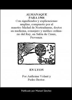 Almanaque para 1566 de Nostradamus