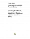 Finanzas e inversiones por Facundo Quiroga