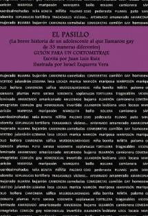 EL PASILLO (La breve historia de un adolescente al que llamaron gay de 33 maneras diferentes). GUIÓN PARA UN CORTOMETRAJE.