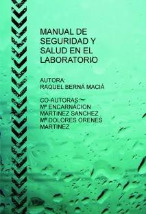 MANUAL DE SEGURIDAD Y SALUD EN EL LABORATORIO