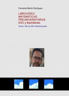 VIDEOLIBRO: Matemáticas Preuniversitarias