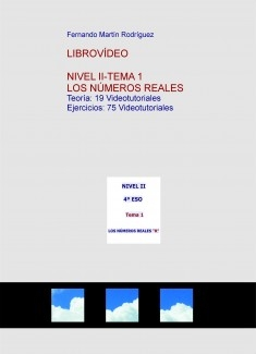 LibroVídeo: LOS NÚMEROS REALES