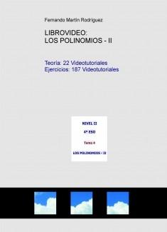 LIBROVIDEO: LOS POLINOMIOS - II