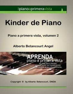 KINDER DE PIANO (Piano a Primera Vista, volumen 1)