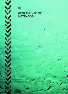REGLAMENTO DE METRADOS