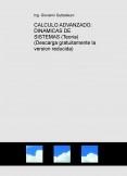 CALCULO ADVANZADO: DINAMICAS DE SISTEMAS (Teoria) (Descarga gratuitamente la version reducida)