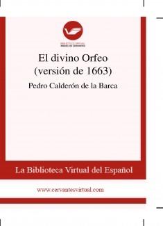 El divino Orfeo (versión de 1663)