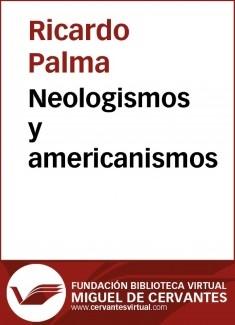 Neologismos y americanismos