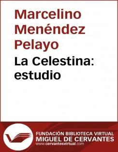 La Celestina: estudio