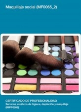 Libro MF0065_2 - Maquillaje social, autor Editorial Elearning