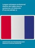 MF0985_2 - Lengua extranjera profesional distinta del inglés para la asistencia en dirección