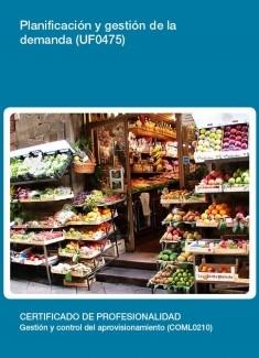 UF0475 - Planificación y gestión de la demanda