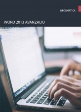 Libro Word 2013 Avanzado, autor Editorial Elearning