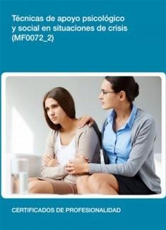 MF0072_2 - Técnicas de apoyo psicológico y social en situaciones de crisis