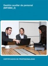 Libro MF0980_2 - Gestión auxiliar de personal, autor Editorial Elearning