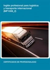 Libro MF1006_2 - Inglés profesional para logística y transporte internacional, autor Editorial Elearning