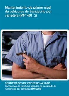MF1461_2 - Mantenimiento de primer nivel de vehículos de transporte por carretera