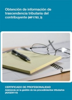 MF1783_3 - Obtención de información de trascendencia tributaria del contribuyente