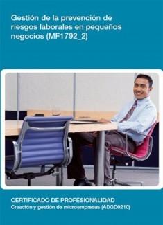 MF1792_2 - Gestión de la prevención de riesgos laborales en pequeños negocios