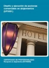 Libro UF0051 - Diseño y ejecución de acciones comerciales en alojamientos, autor Editorial Elearning