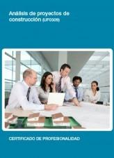 Libro UF0309 - Análisis de proyectos de construcción, autor Editorial Elearning