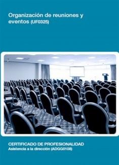 UF0325 - Organización de reuniones y eventos