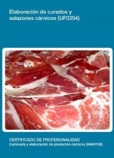 UF0354 - Elaboración de curados y salazones cárnicos