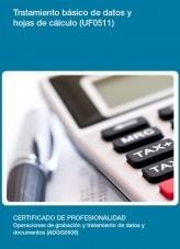 Libro UF0511 - Tratamiento básico de datos y hojas de cálculo, autor Editorial Elearning