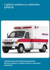 Libro UF0675 - Logística sanitaria en catástrofes, autor Editorial Elearning