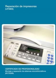 UF0865 - Reparación de impresoras
