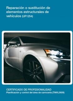 UF1254 - Reparación o sustitución de elementos estructurales de vehículos
