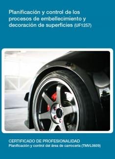 UF1257 - Planificación y control de los procesos de embellecimiento y decoración de superficies