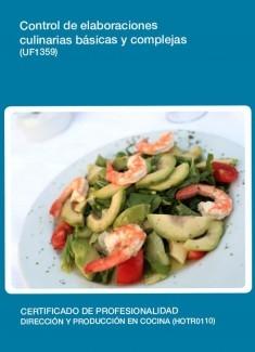 UF1359 - Control de elaboraciones culinarias básicas y complejas