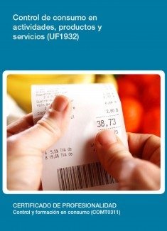 UF1932 - Control de consumo en actividades, productos y servicios