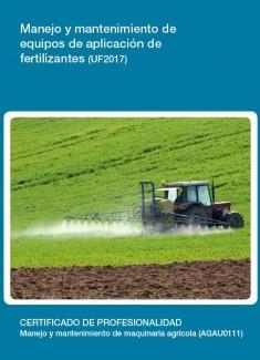 UF2017 - Manejo y mantenimiento de equipos de aplicación de fertilizantes