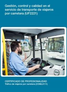 UF2221 - Gestión, control y calidad en el servicio de transporte de viajeros por carretera