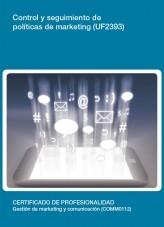 UF2393 - Control y seguimiento de políticas de marketing