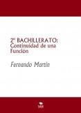 2º BACHILLERATO: Continuidad de una Función