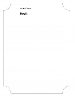 Hostil.