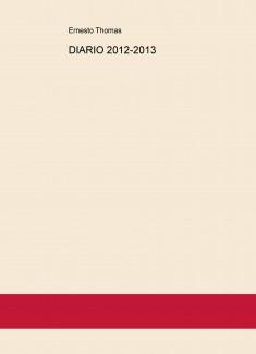 DIARIO 2012-2013