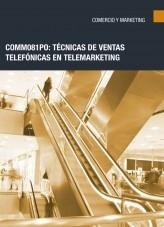 Libro COMM081PO: Técnicas de ventas telefónicas en telemarketing, autor Editorial Elearning