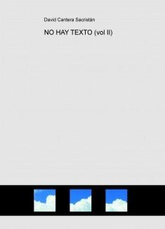 NO HAY TEXTO (vol II)