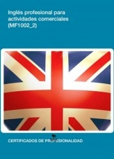 Libro MF1002-Inglés profesional para actividades comerciales, autor Editorial Elearning